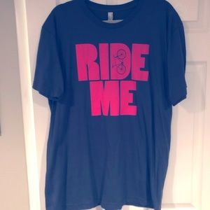 Other - 5 for $20 - Ride Me  American Apparel tee - Gray